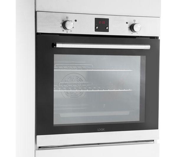 Logik Lblfanx17 Electric Oven Inox Black