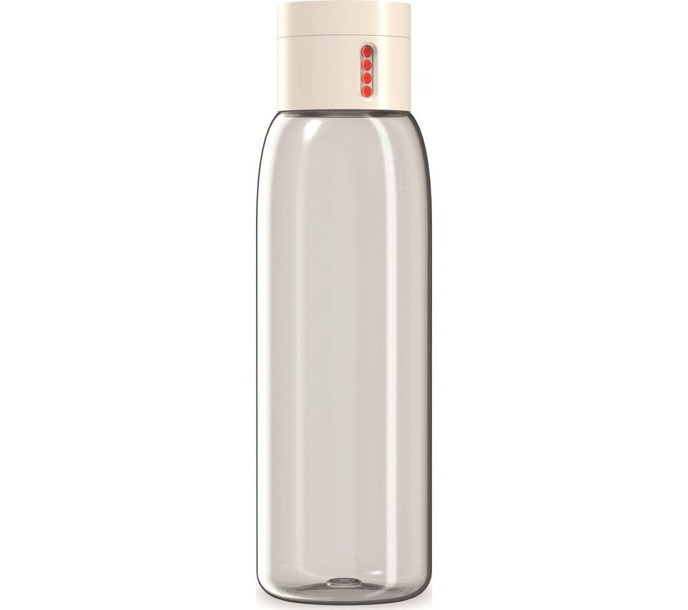 JOSEPH JOSEPH Dot Hydration Tracking 600 ml Water Bottle - Stone