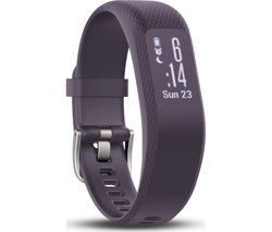 GARMIN Vivosmart 3 HR - Purple, Small/Medium
