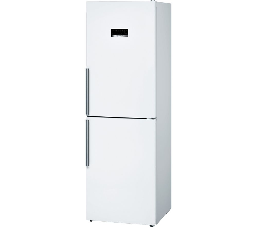 BOSCH KGN34XW35G 50/50 Fridge Freezer - White, White