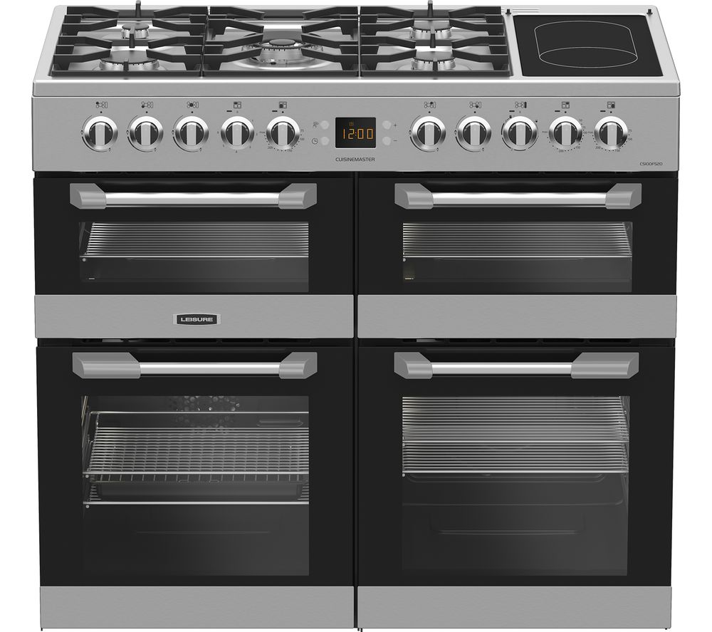 Compare retail prices of Leisure Cuisinemaster CS100F520X Dual Fuel Range Cooker to get the best deal online