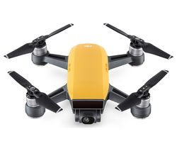 DJI Spark Drone Fly More Combo - Sunrise Yellow