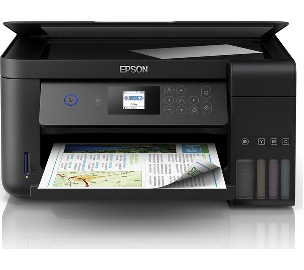 Image of EPSON Ecotank ET-2750 All-in-One Wireless Inkjet Printer