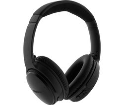 BOSE QuietComfort Wireless Bluetooth Noise-Cancelling Headphones - Black