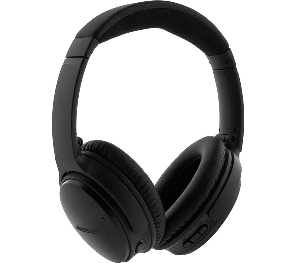 BOSE QuietComfort QC35 II Wireless Bluetooth Noise-Cancelling Headphones - Black, Black