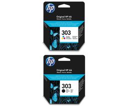 HP 303 Combo Tri-colour & Black Ink Cartridges