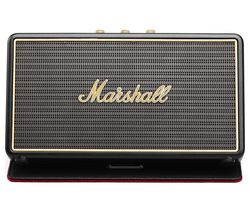 MARSHALL Stockwell Portable Bluetooth Wireless Speaker with Flip Cover Case - Black