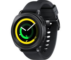 SAMSUNG Gear Sport - Black, Silicone Strap