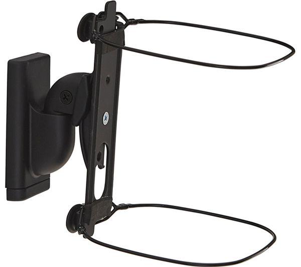 Image of SANUS WSWM22-B2 Tilt & Swivel Sonos Speaker Bracket - Black