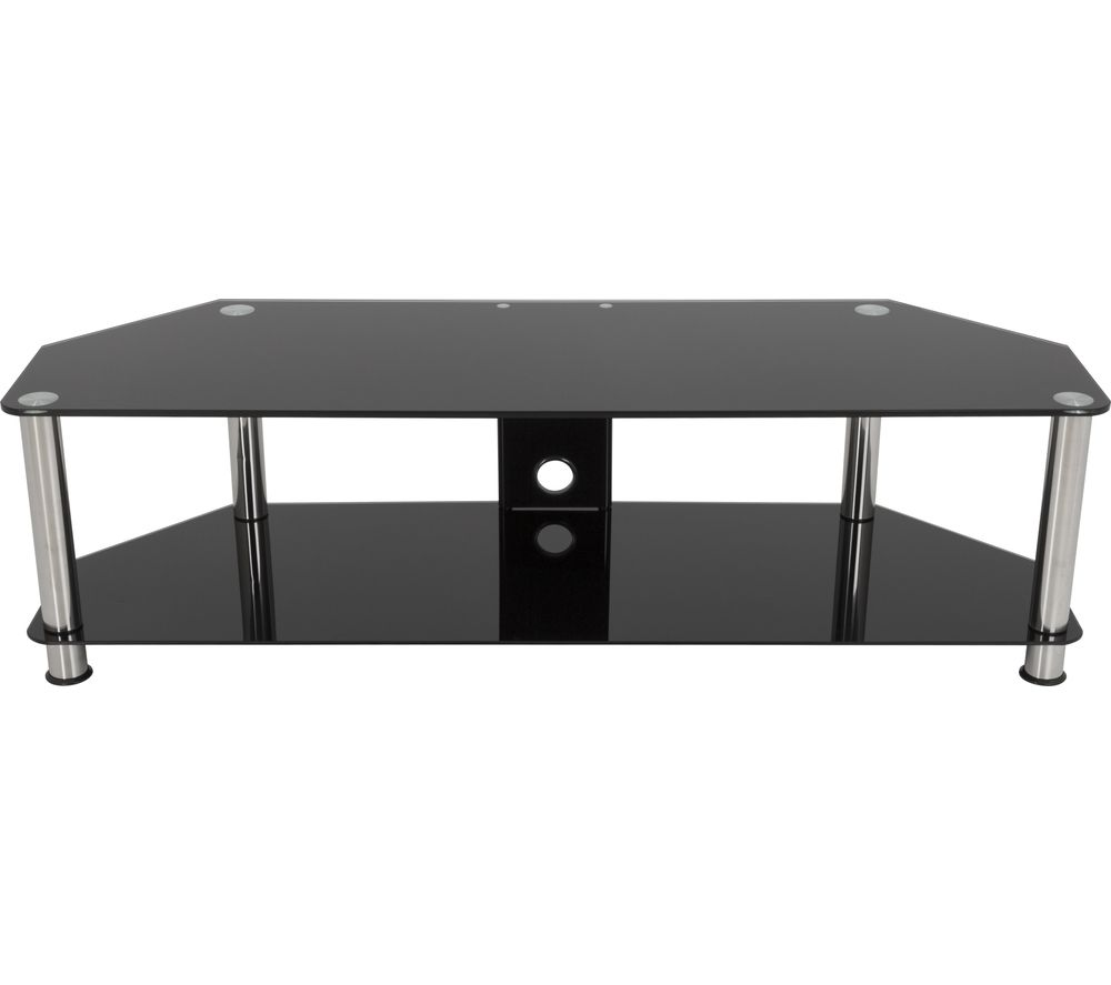 AVF AVF SDC1400CM TV Stand - Black & Chrome, Black