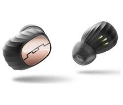 SOL REPUBLIC Amps Air Wireless Bluetooth Headphones - Rose Gold