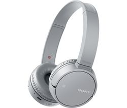 SONY WH-CH500 Wireless Bluetooth Headphones - Silver