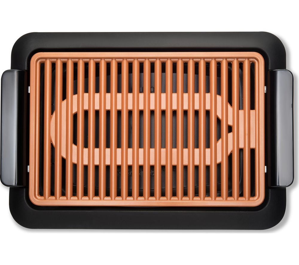 Buy Gotham Steel Indoor Grill Black Free Delivery Currys