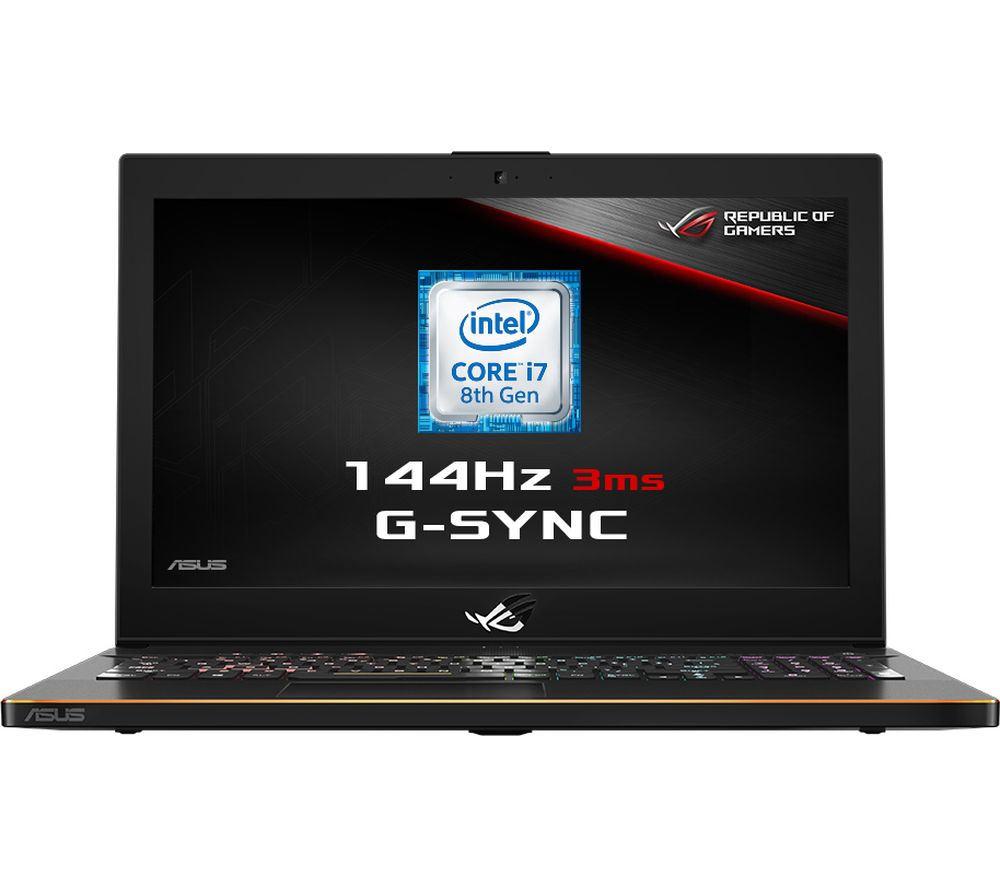 """Image of ASUS ROG Zephyrus GM501GS 15.6"""" Intel® Core™ i7 GTX 1070 Gaming Laptop - 1 TB HDD & 256 GB SSD"""