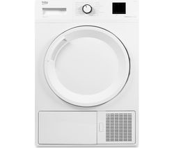BEKO DTBP8001W 8 kg Heat Pump Tumble Dryer - White