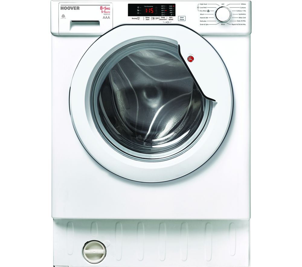 HOOVER H-WASH 300 HBWD 8514S-80 Integrated 8 kg Washer Dryer