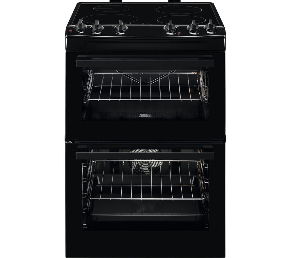 ZANUSSI ZCI66050BA 60 cm Electric Induction Cooker – Black, Black