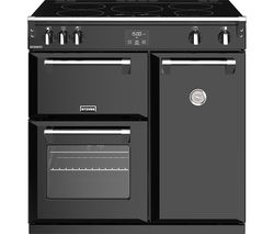 STOVES Richmond 900Ei 90 cm Electric Induction Range Cooker - Black