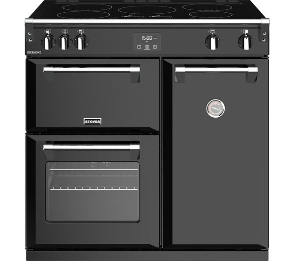 Image of STOVES Richmond 900Ei 90 cm Electric Induction Range Cooker - Black