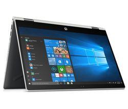 """HP Pavilion x360 14-cd0505sa 14"""" Intel® Core™ i5 2 in 1 - 128 GB SSD, Silver"""