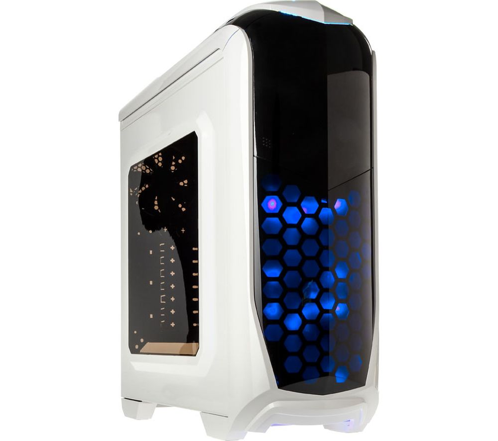 KOLINK Aviator ATX Mid-Tower PC Case - White