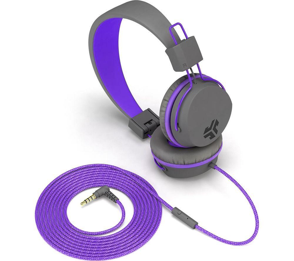 Image of JLAB AUDIO JBuddies Studio Kids Headphones - Purple, Purple