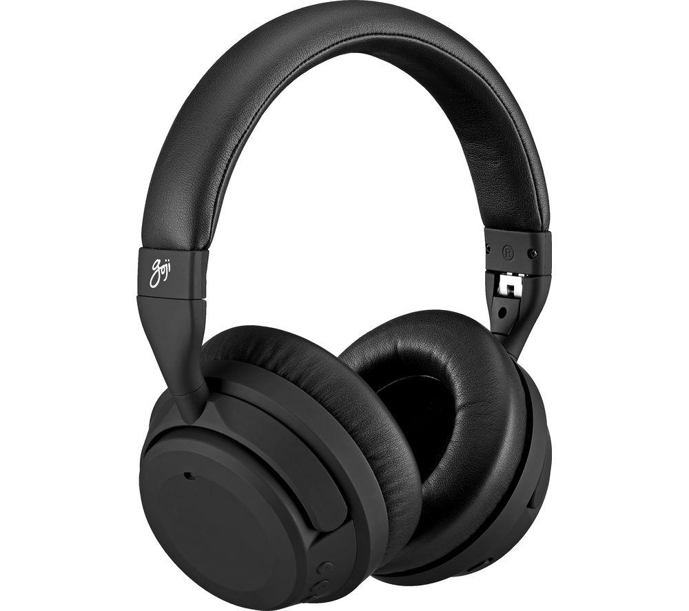 Image of GOJI Advance GTCNCPM19 Wireless Bluetooth Noise-Cancelling Headphones - Black, Black
