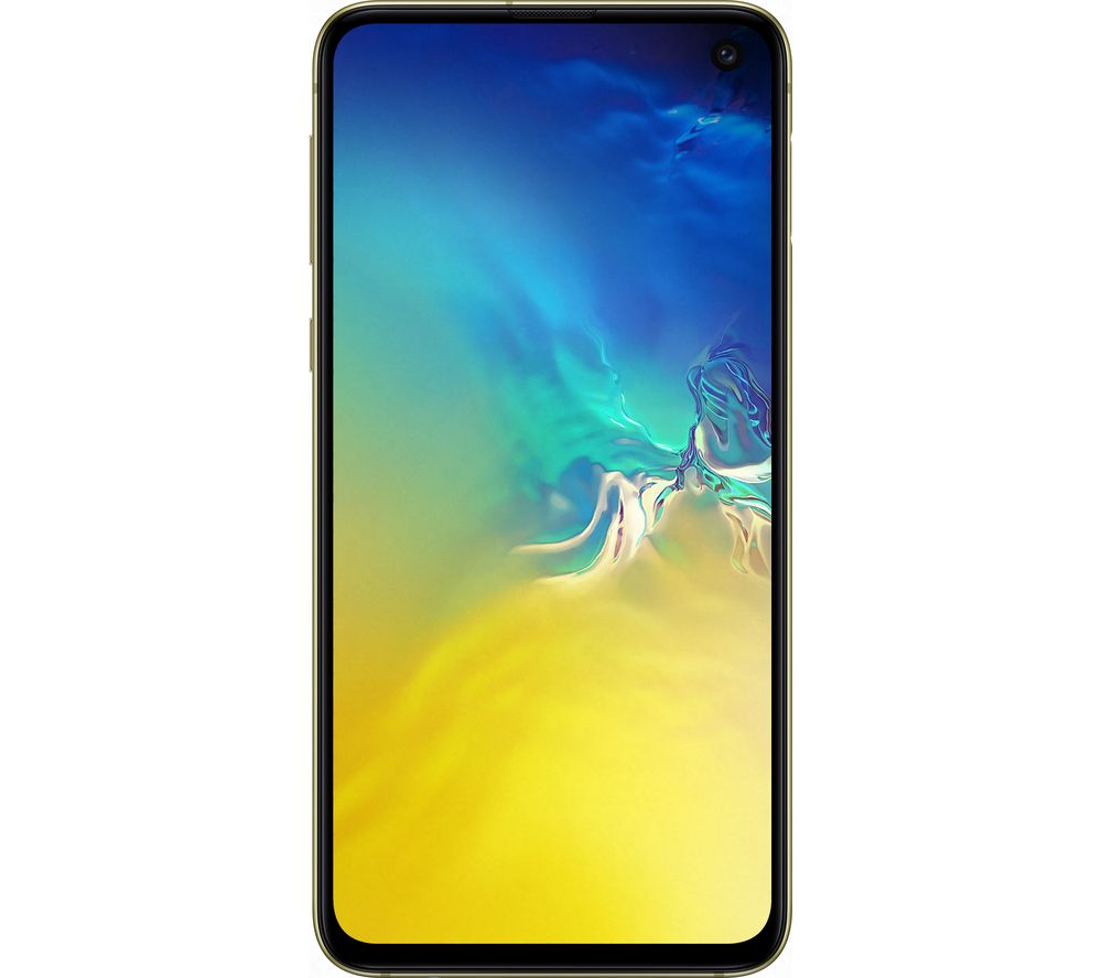SAMSUNG Galaxy S10e - 128 GB, Canary Yellow