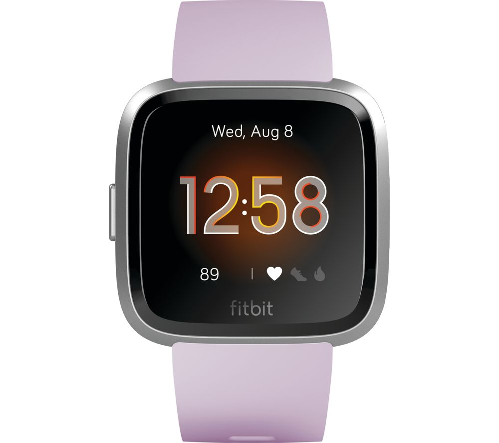Buy Fitbit Versa Lite Lilac Free Delivery Currys