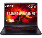 £969, ACER Nitro 7 AN715-51 15.6 Gaming Laptop - Intel® Core™ i5, GTX 1650, 512 SSD, Intel® Core™ i5-9300H Processor, RAM: 8GB / Storage: 512GB SSD, Graphics: NVIDIA GeForce GTX 1650 4GB, 145 FPS when playing Fortnite at 1080p, Full HD screen / 144 Hz,