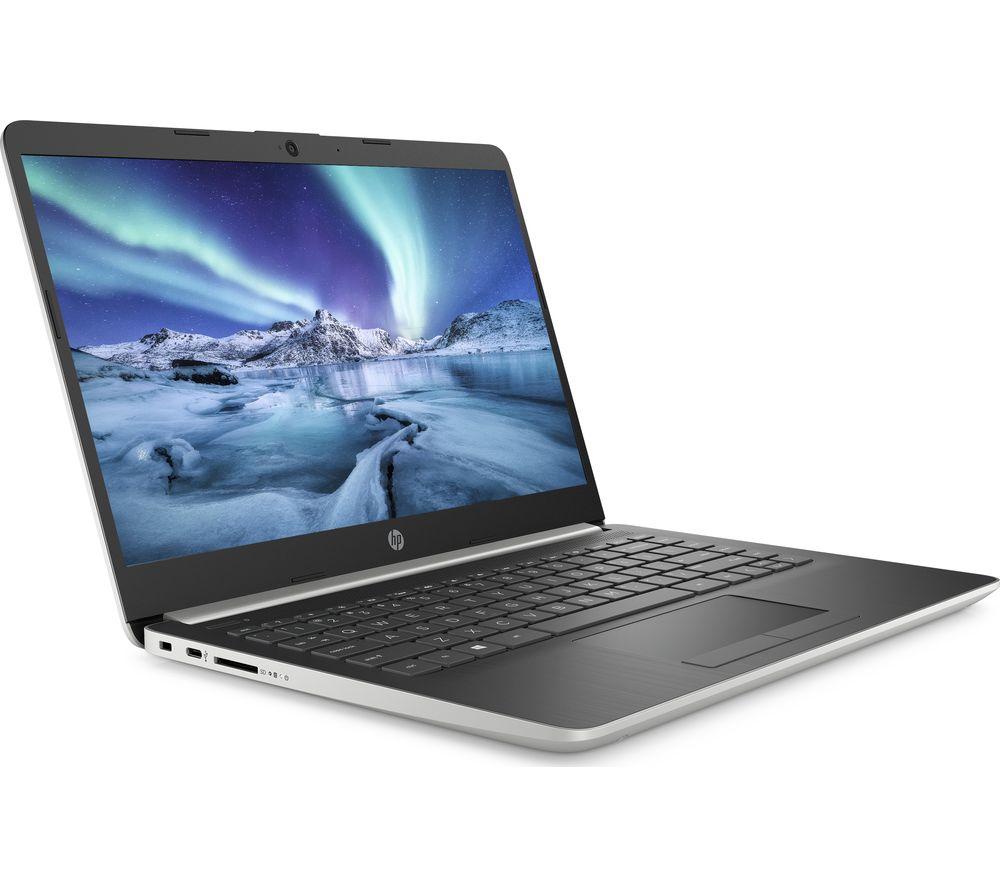 """HP 14-dk0501sa 14"""" AMD Ryzen 3 Laptop - 128 GB SSD, White"""