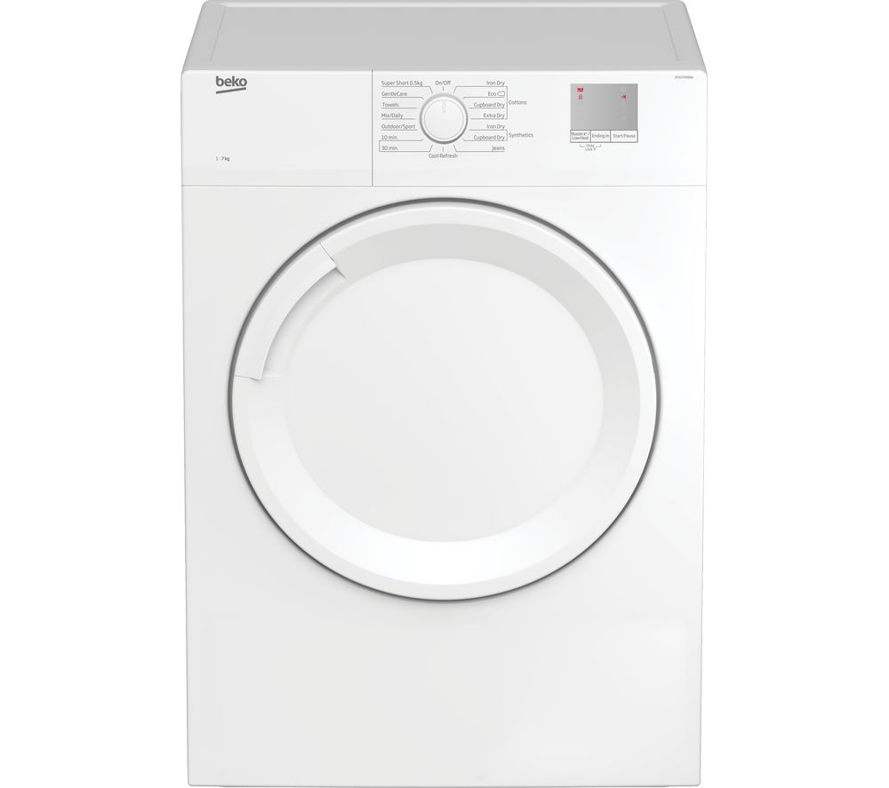 BEKO DTGV7000W 7 kg Vented Tumble Dryer - White