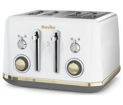 BREVILLE Mostra VTT937 4-Slice Toaster - White
