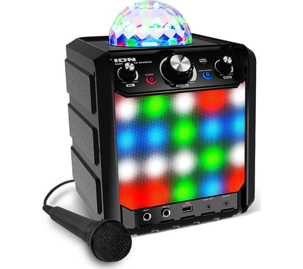 ION Party Rocker Express Portable Bluetooth Speaker - Black, Black