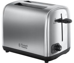 RUSSELL HOBBS Adventure 24080 2-Slice Toaster - Silver Best Price, Cheapest Prices