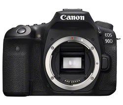 CANON EOS 90D DSLR Camera - Body Only