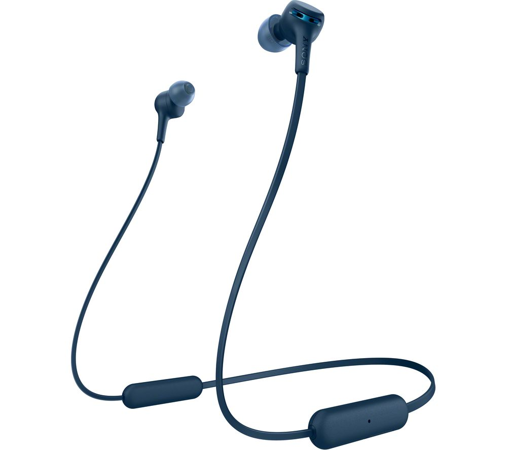 SONY Extra Bass WI-XB400 Wireless Bluetooth Earphones - Blue
