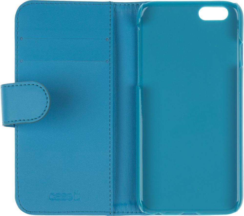 Image of Folio iPhone 8 & 7 & 6 & 6s Case - Blue, Blue
