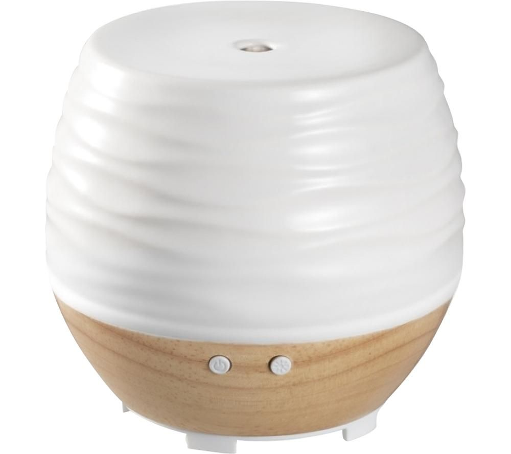 Image of Ellia ARM-535TWT-WW Aromatherapy Diffuser - White & Brown, White