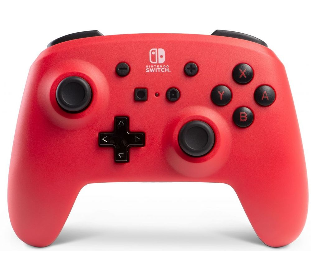 POWERA Nintendo Switch Enhanced Wireless Controller - Red & Black, Red