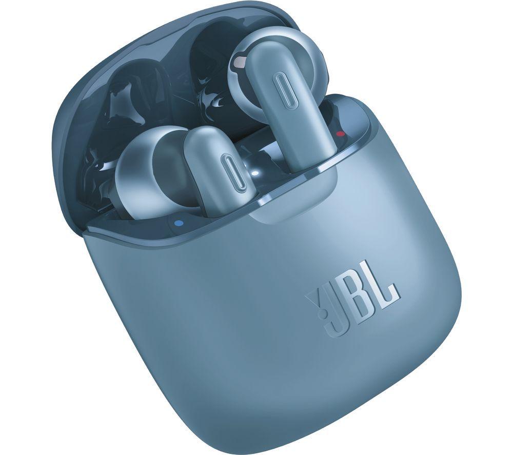 JBL Tune 220TWS Wireless Bluetooth Earphones - Blue