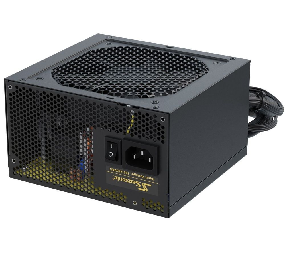 Image of SEASONIC Coreu0026tradeGC-500 Fixed ATX PSU - 500 W, Gold