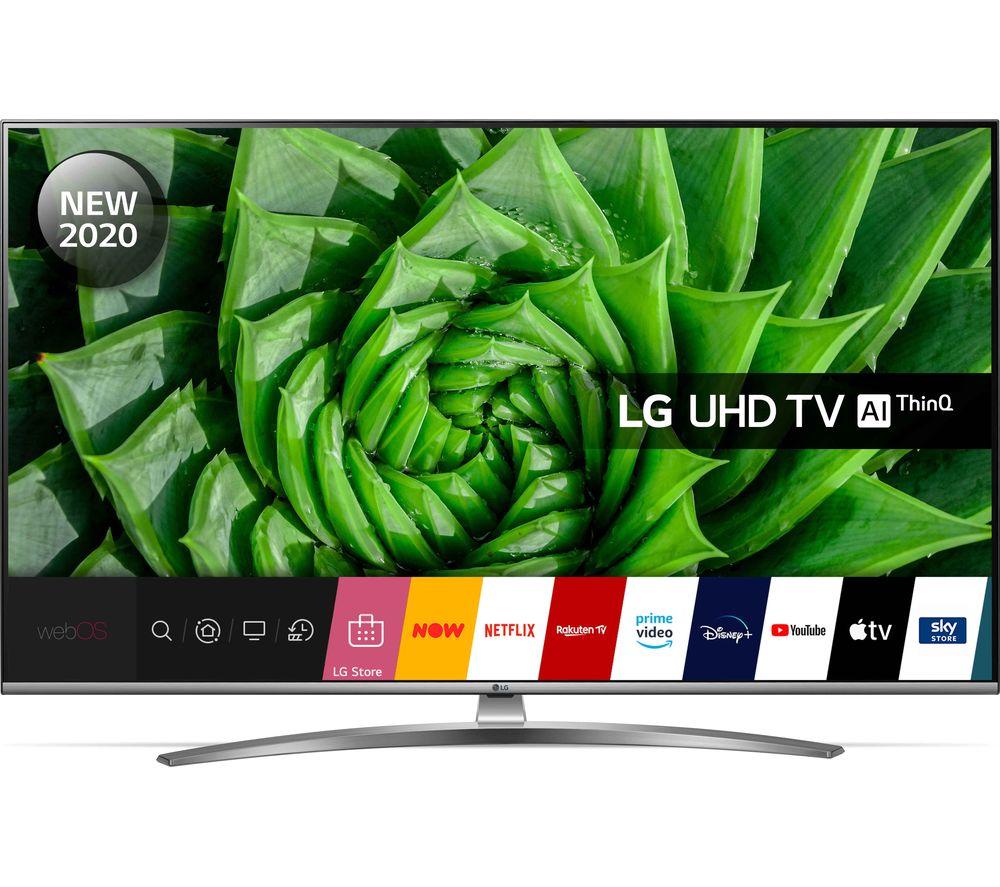 50 LG 50UN81006LB  Smart 4K Ultra HD HDR LED TV with Google Assistant & Amazon Alexa