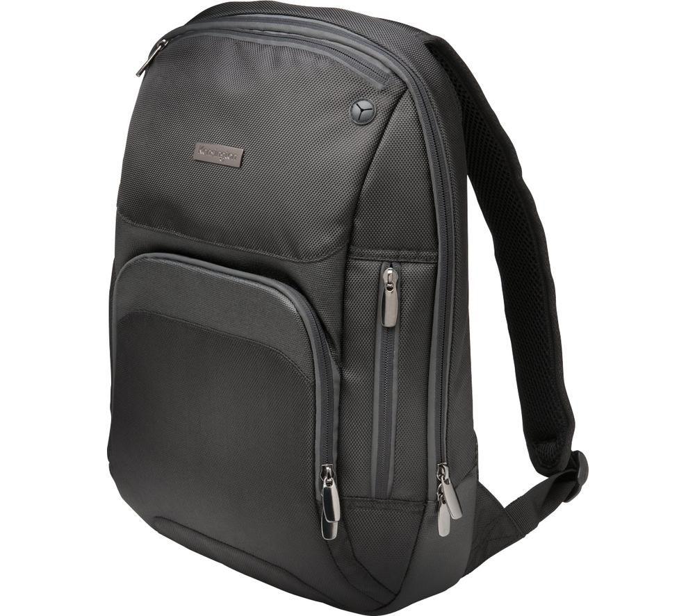 "KENSINGTON Triple Trek 14"" Laptop Backpack - Black"