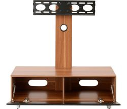 MUN1250WAL Stand with Bracket - Walnut