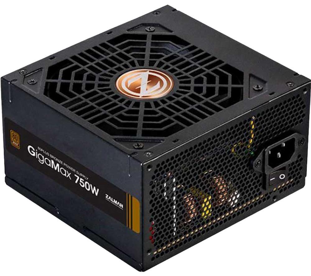 Image of ZALMAN GigaMax ZM750-GVII ATX PSU - 750 W, Bronze