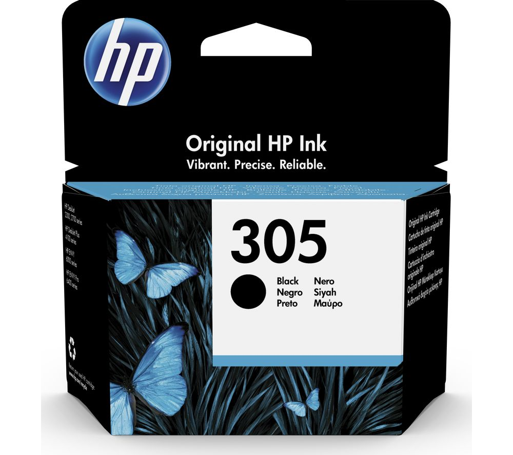HP 305 Black Ink Cartridge