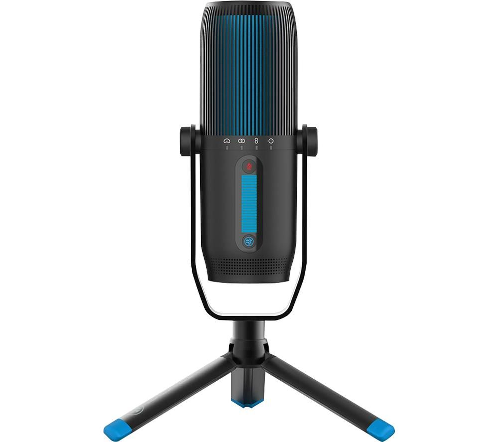 Image of JLAB AUDIO Talk Pro USB Microphone - Black, Black