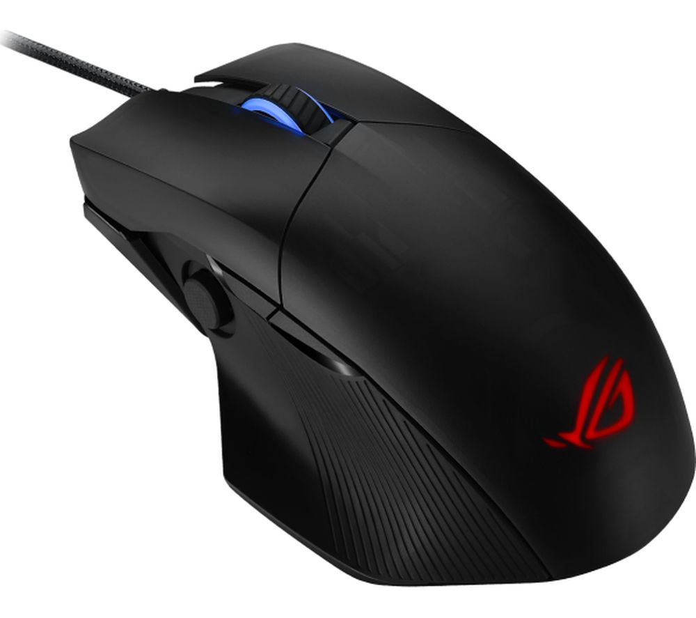 Image of Asus ROG Chakram Core Corded Gaming mouse Optical Ergonomic, Backlit Black