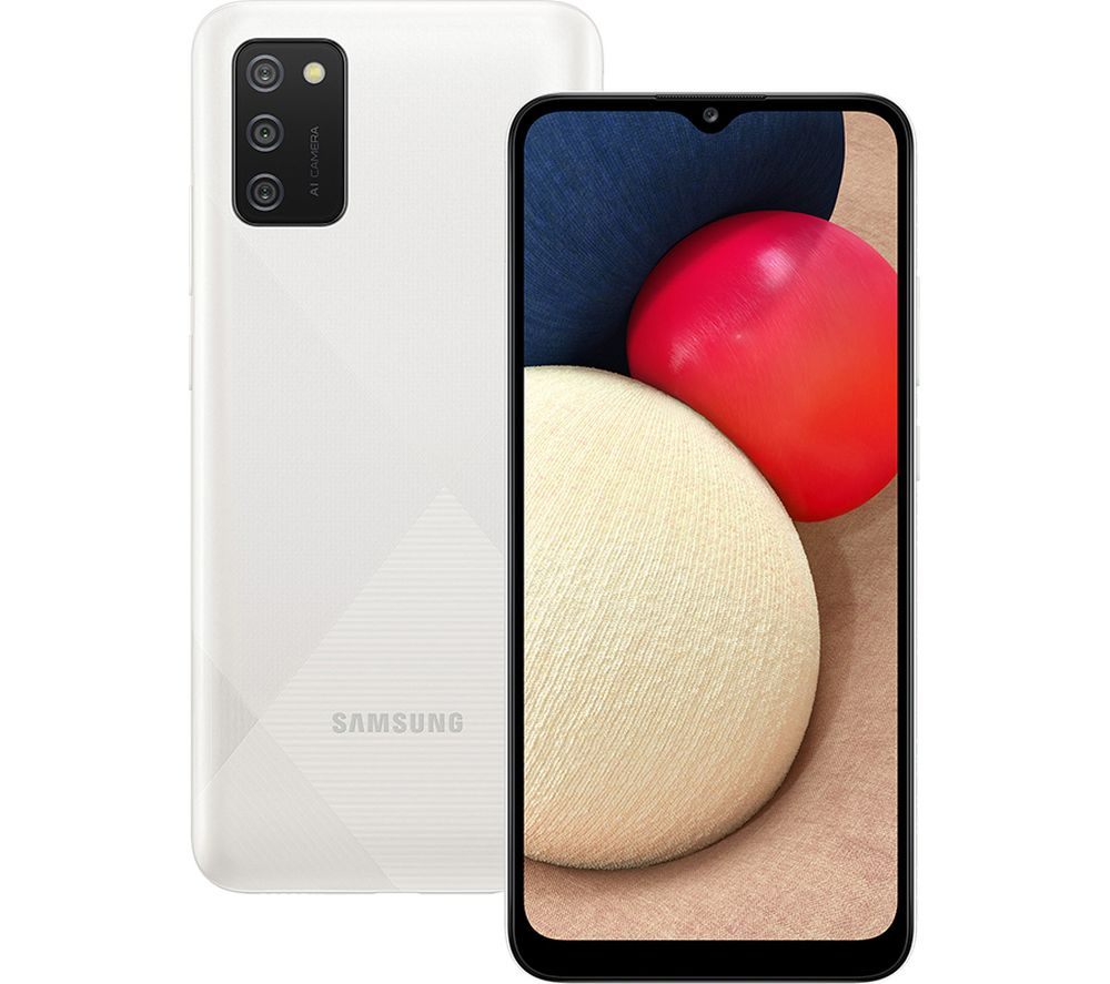 SAMSUNG Galaxy A02s - 32 GB, White